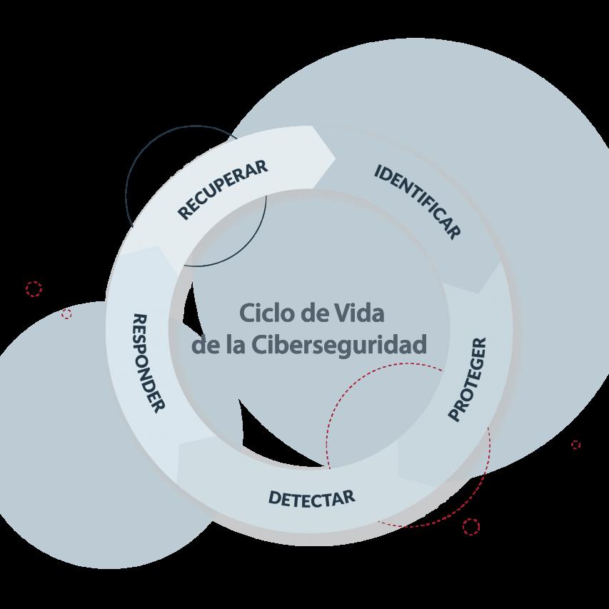 Imagen Ciclo de vida de la ciberseguridad