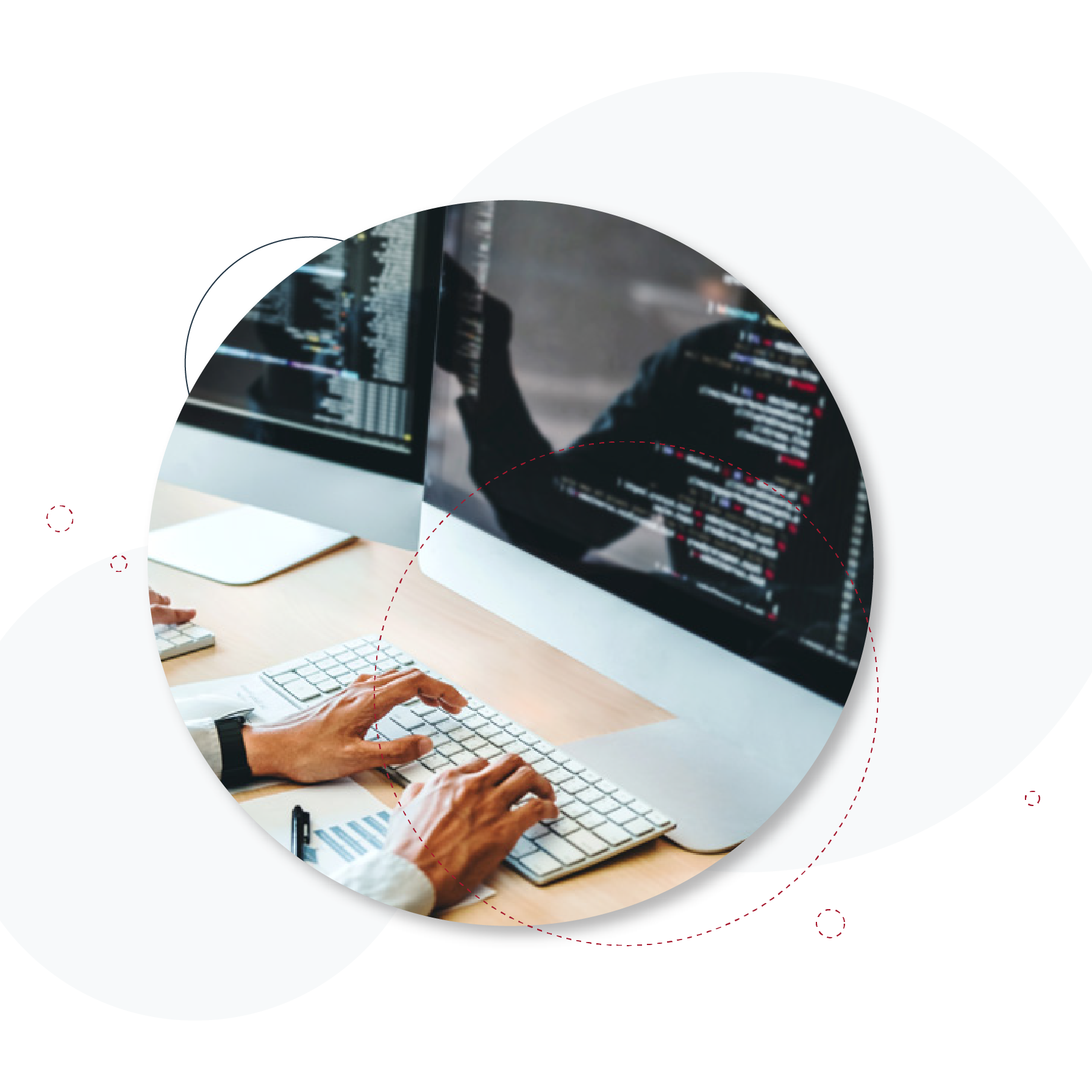 Web development service header image